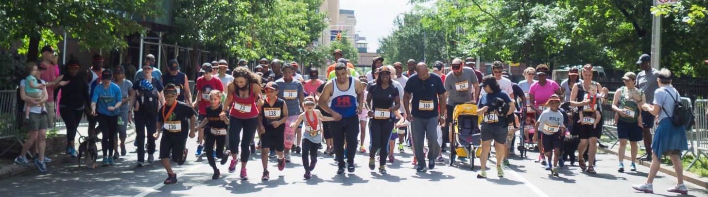 Harlem United and Harlem Run present the Harlem One-Miler