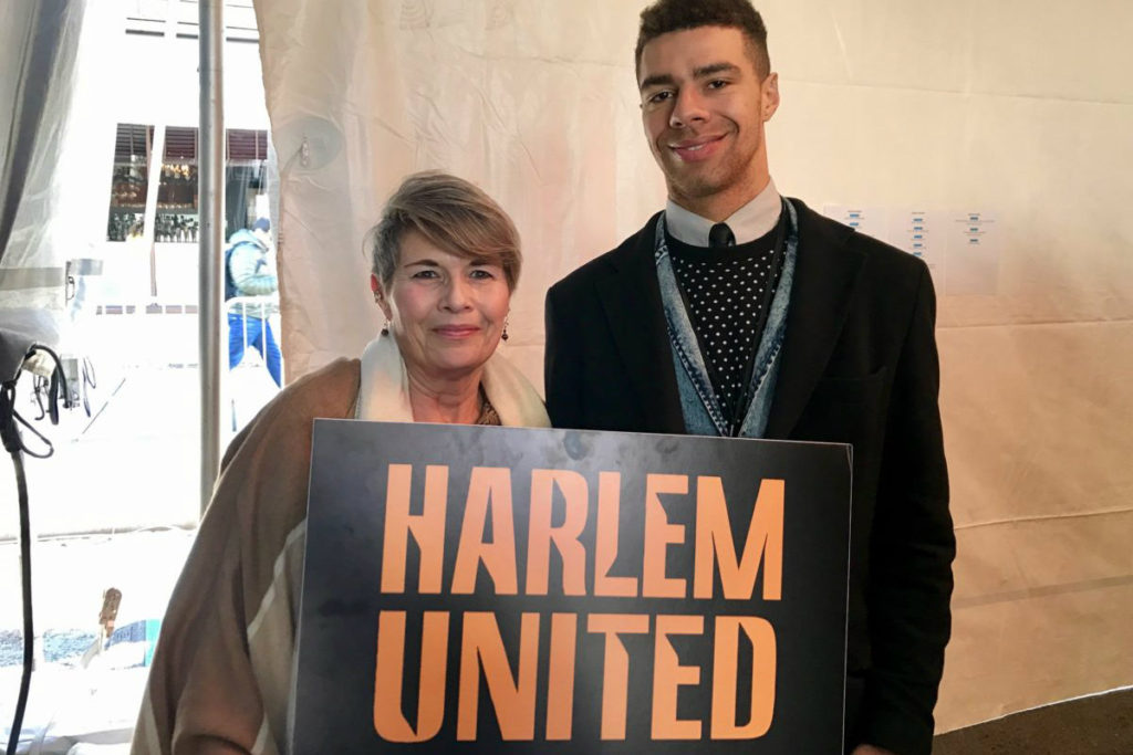 Harlem United at the 2016 World AIDS Day commemoration ceremony