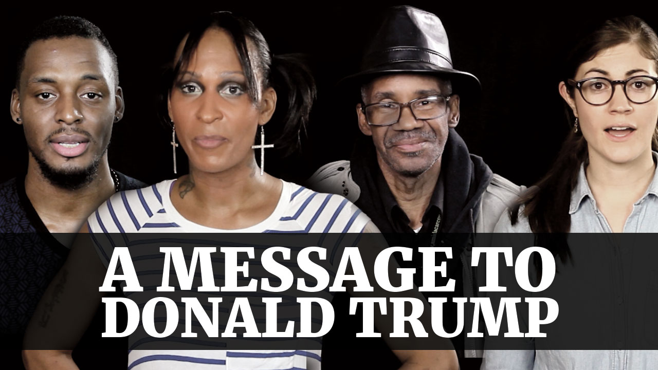 A Message to Donald Trump