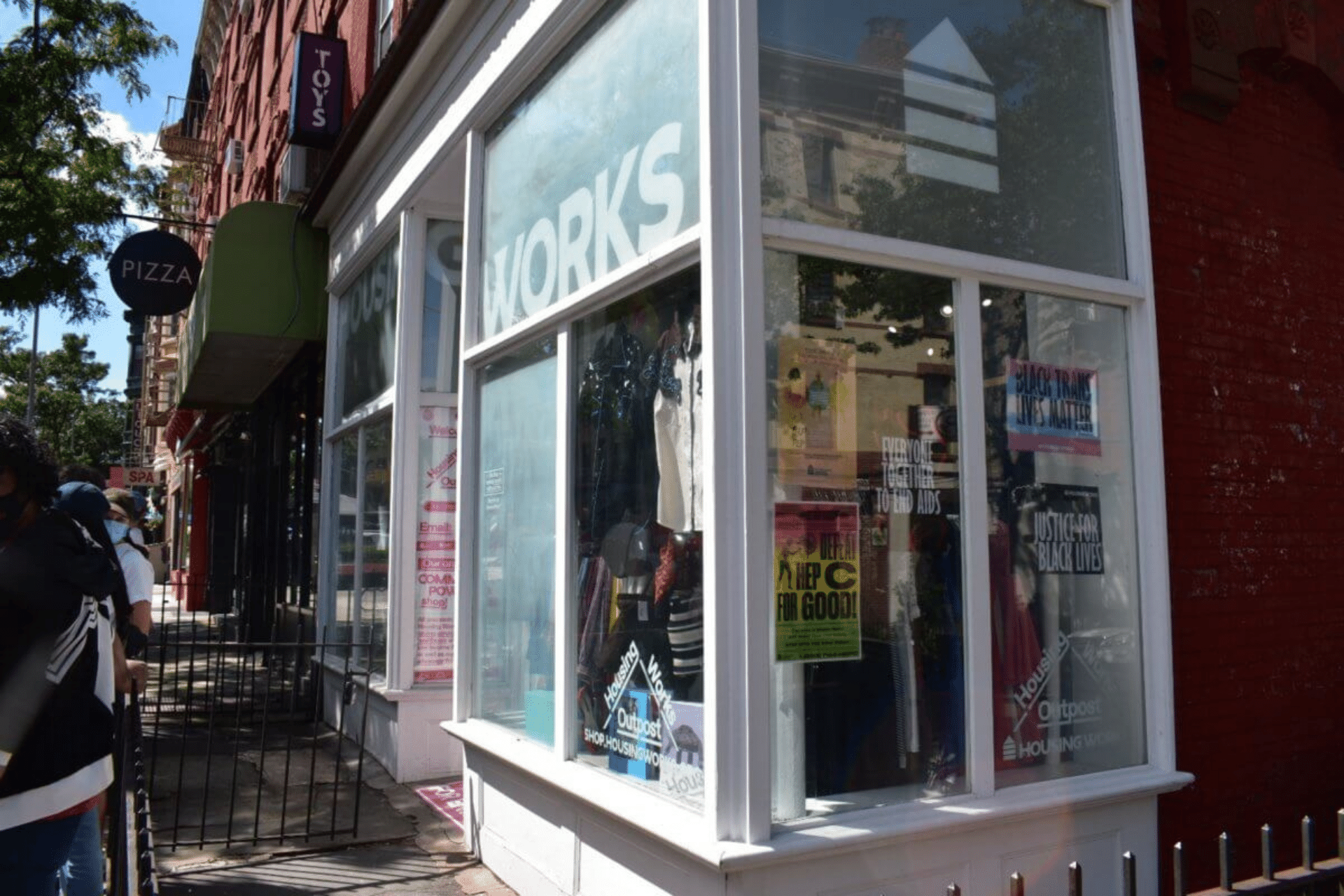 Exterior of Housing Works Thrift Shop